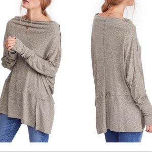 Free People thermal knit top